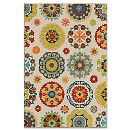 Orian Rugs Veranda Hubbard 6'5 x 9'8 Indoor/Outdoor Multicolor Area Rug