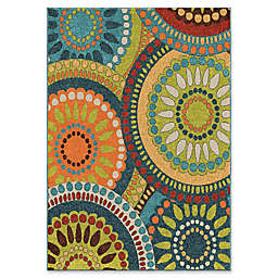 Orian Rugs Veranda Merrifield Collage Woven Area Rug