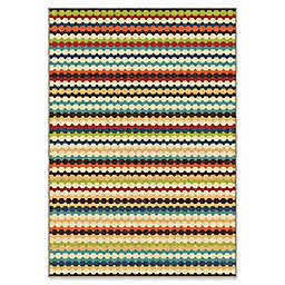 Orian Rugs Veranda Connect the Dots Gemstone Multicolor Area Rug