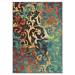 Orian Rugs Nepal Scroll Multicolor Area Rug