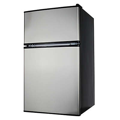 Midea Stainless Steel 3.1 cu. ft. Mini Refrigerator