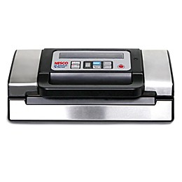 Nesco® Deluxe Vacuum Sealer in Stainless Steel/Black