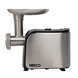 Nesco® FG-180 Food Grinder in Stainless Steel/Black