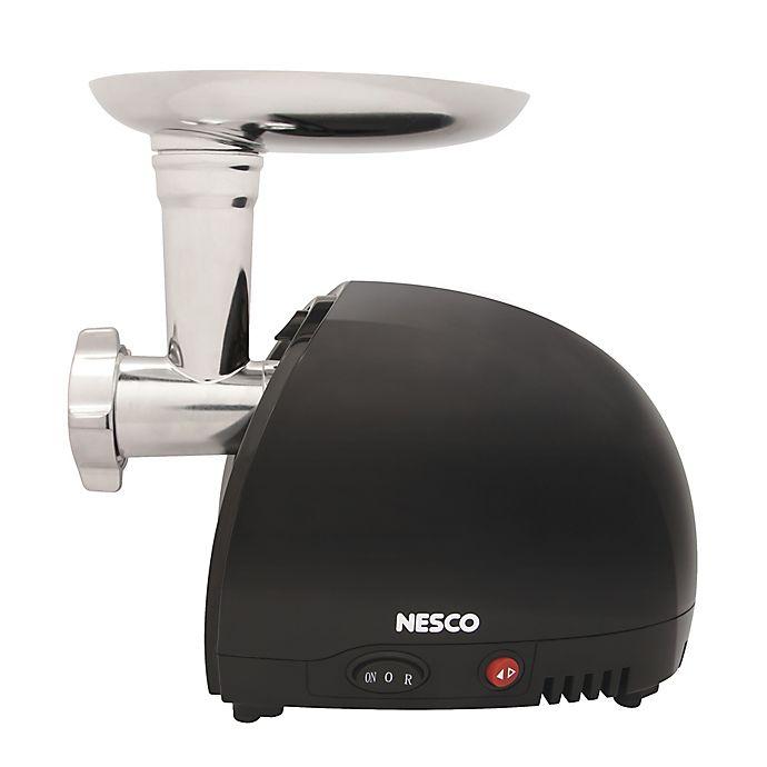 Alternate image 1 for Nesco® FG-100 Food Grinder in Stainless Steel/Black
