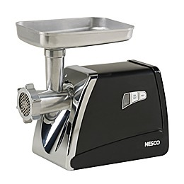 Nesco® FG-500 Food Grinder in Stainless Steel/Black