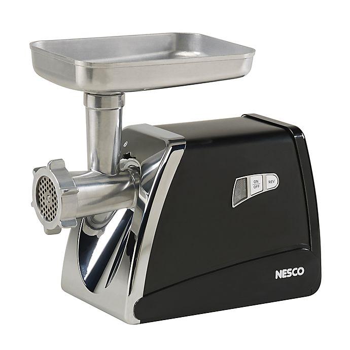 Alternate image 1 for Nesco® FG-500 Food Grinder in Stainless Steel/Black
