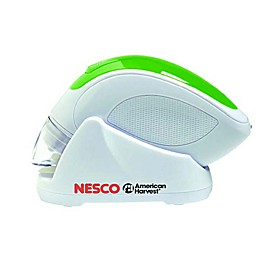 Nesco® Cordless Hand Held Vacuum Sealer in White/Green
