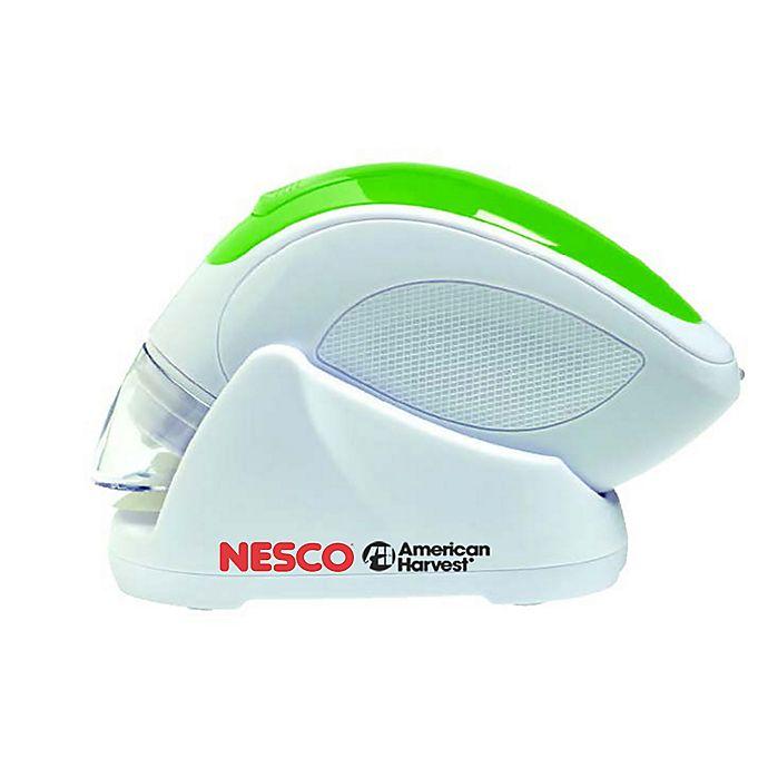 Alternate image 1 for Nesco® Cordless Hand Held Vacuum Sealer in White/Green