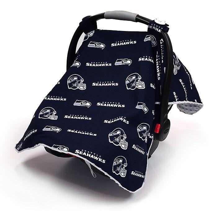 uk availability 1b38f 12ec9 Baby Fanatic® NFL Seattle Seahawks Car Seat Canopy™ | buybuy ...