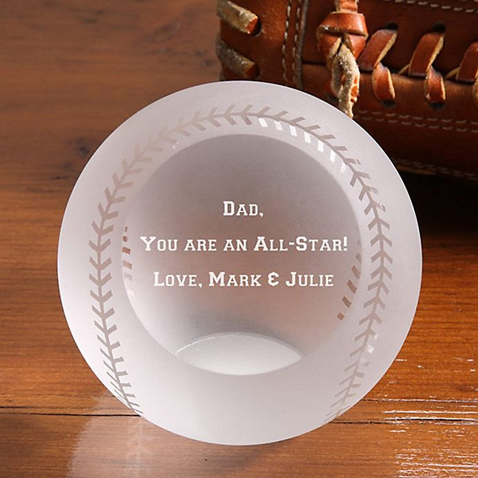 Alternate image 1 for You're An Allstar! Glass Baseball