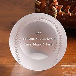 You're An Allstar! Glass Baseball