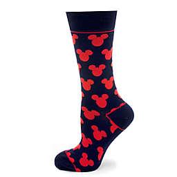 Disney® Mickey Mouse Silhouette Socks in Blue