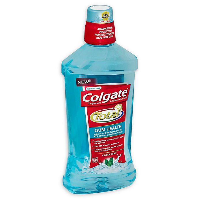 Alternate image 1 for Colgate® Total® 33.8 fl. oz. 12 HR Pro-Shield™ Mouthwash in Clean Mint