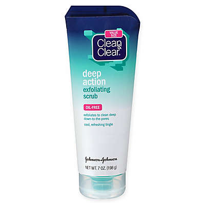 Clean and Clear® 7 oz. Deep Action Oil Free Exfoliating Scrub
