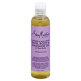 SheaMoisture® 8 fl. oz. Bath Body and Massage Oil with Shea Butter in Lavender/Wild Orchid