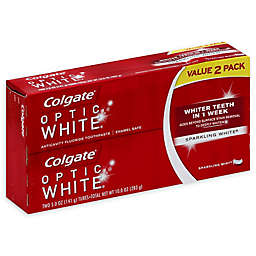 Colgate® 2-Count 5 oz. Optic White Toothpaste in Sparkling Mint