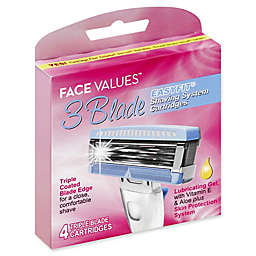 Harmon® Face Values™ 4-Count 3-Blade Easyfit Womens Shaving System Cartridges