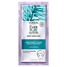 L'Oréal® Paris EverPure Deep Moisture Hair Sheet Mask Steam Treatment