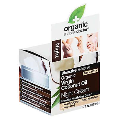 Dr. Organic® 1.7 fl. oz. Bioactive Skincare Virgin Coconut Oil Night Cream