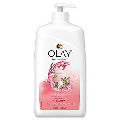 Olay® Fresh Outlast® 30 fl. oz. Body Wash in Cooling White Strawberry and Mint