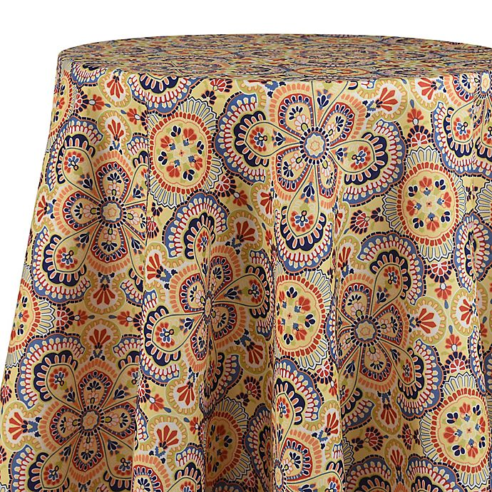 Alternate image 1 for Fiesta® Rio 70-Inch Round Tablecloth