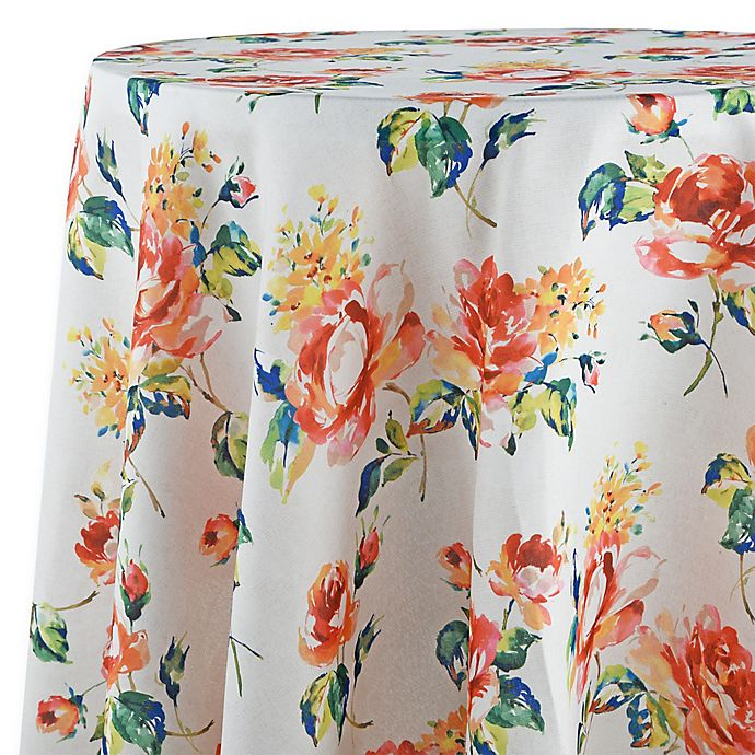 Alternate image 1 for Fiesta® Floral Bouquet 70-Inch Round Tablecloth