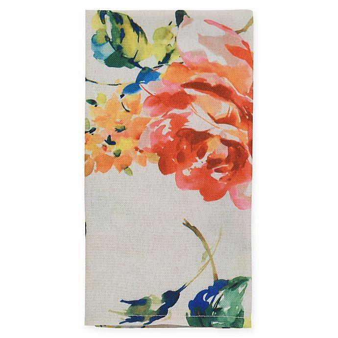 Alternate image 1 for Fiesta® Floral Bouquet Napkin