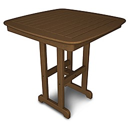 POLYWOOD® Nautical 37-Inch Square Counter Table