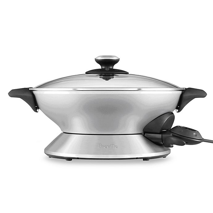 Alternate image 1 for Breville® The Hot Wok™ Model BEW600XL
