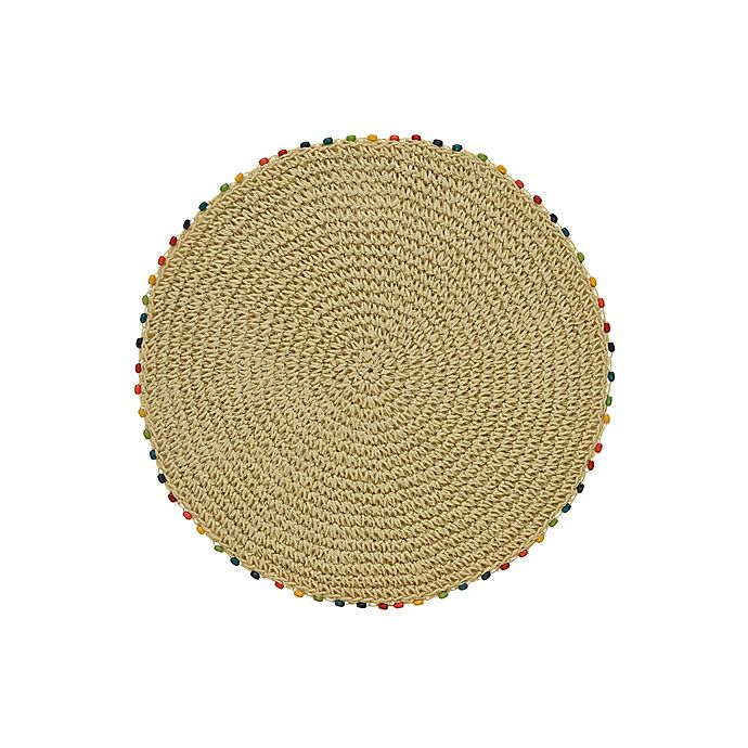 Alternate image 1 for Fiesta® Cabo Bead Round Placemat