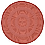 Fiesta® Quilted Round Placemat in Scarlet