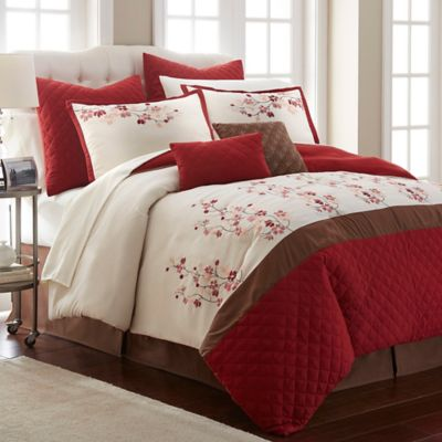 Emily 12 Piece Comforter Set Bed Bath Amp Beyond