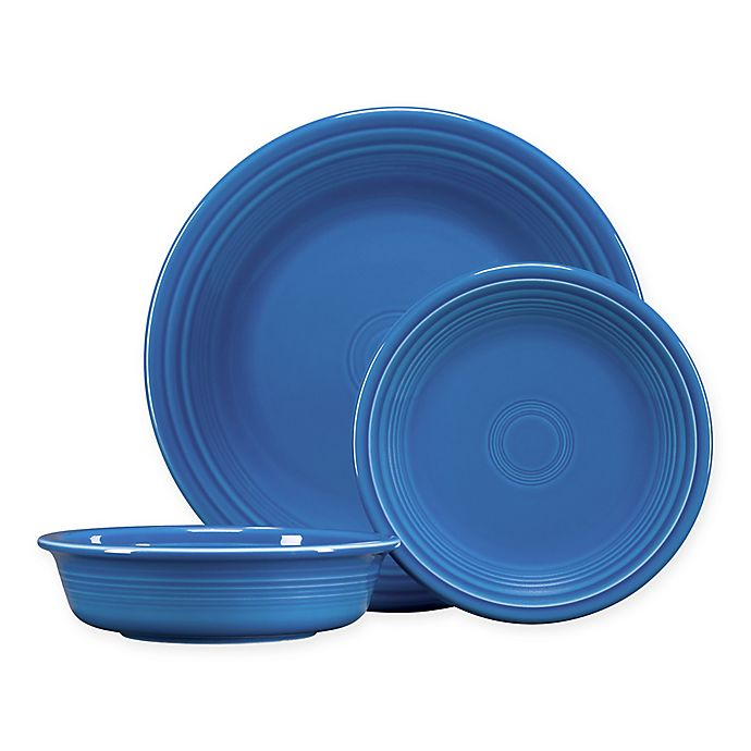 Alternate image 1 for Fiesta® 3-Piece Classic Place Setting in Lapis