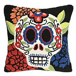 Liora Manne Frontporch Mrs. Muerto Square Indoor/Outdoor Throw Pillow