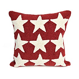 Liora Manne Frontporch Stars Square Indoor/Outdoor Throw Pillow