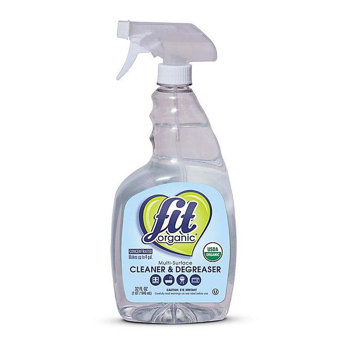 Alternate image 1 for FIT Organic® 32 oz. Multi-Surface Spray Cleaner and Degreaser