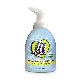 FIT Organic® 18 oz. Foaming Dish Soap in Lemongrass Tangerine