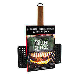 Charcoal Companion Non-Stick Grilled Cheese Basket and Book Set