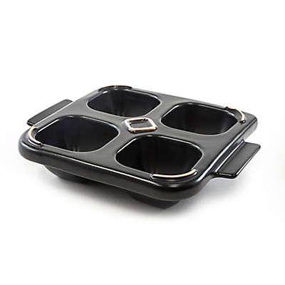 Charcoal Companion Flame Friendly® Ceramic Bacon Bowl