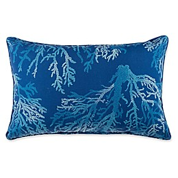Print Indoor/Outdoor 13-Inch x 20-Inch Oblong Throw Pillow