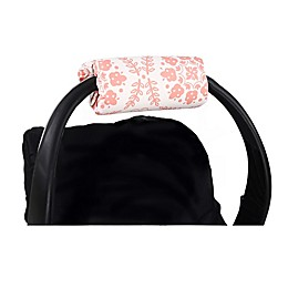The Peanutshell™ Carrier Cushion and Car Seat Strap Cover Set in Coral Medallion
