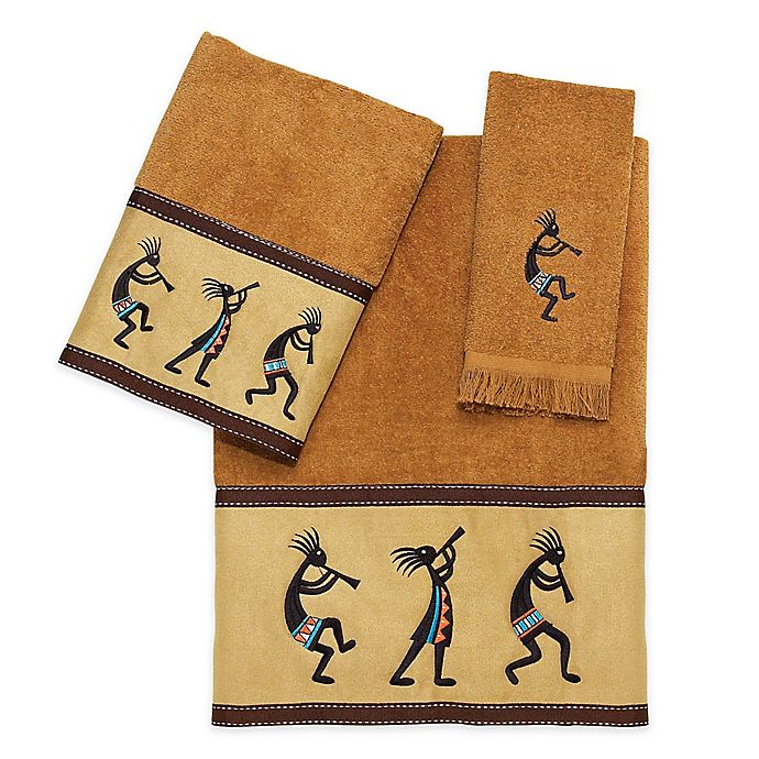 Avanti Kokopelli Fingertip Towel In