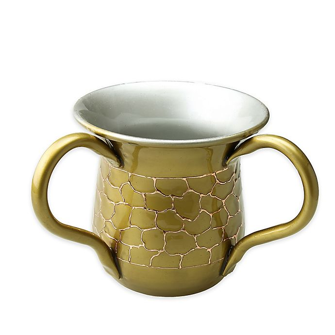 Alternate image 1 for Classic Touch Relic Enameled Wash Cup  in Gold