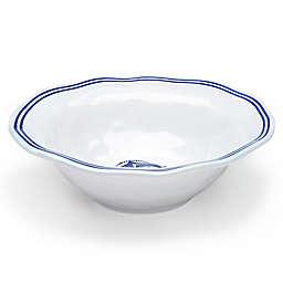 Q Squared Melamine Portsmouth Serving Bowl in Blue