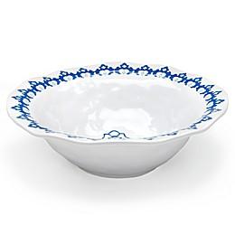 Q Square Melamine Royal Lapis Serving Bowl in Blue