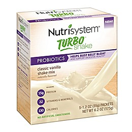 Nutrisystem® 5-Count Turbo Shakes in Vanilla