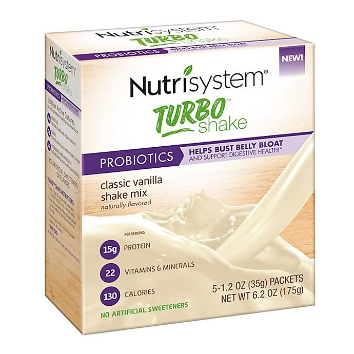Nutrisystem® 5-Count Turbo Shakes in
