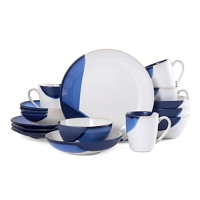 Alternate image 1 for Gourmet Basics by Mikasa® Caden 16-Piece Dinnerware Set