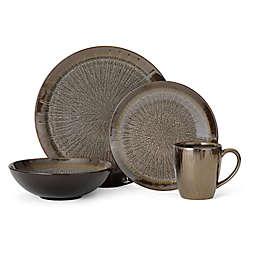 Gourmet Basics by Mikasa® Reed 16-Piece Dinnerware Set in Grey