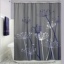 iDesign® Thistle Fabric Shower Curtain